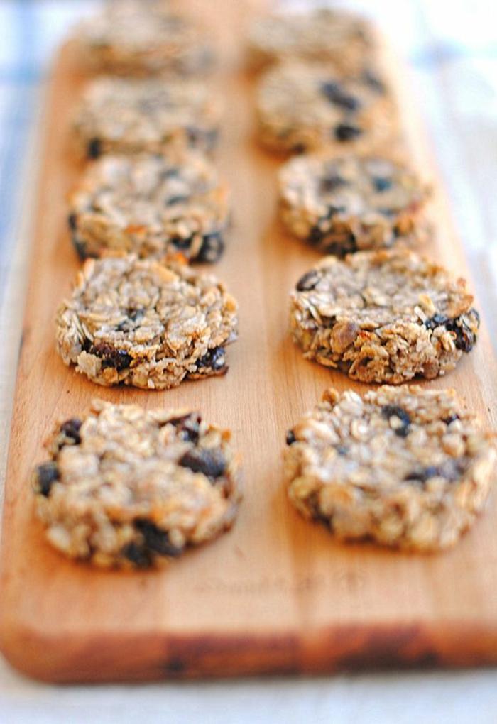 Haferflocken-Cookies-gesunde-süßigkeiten-ohne-zucker