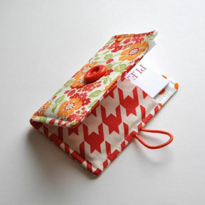Kinder-Mode-buntes-Modell-Geldbörse-Knopf-Textil-handgemacht