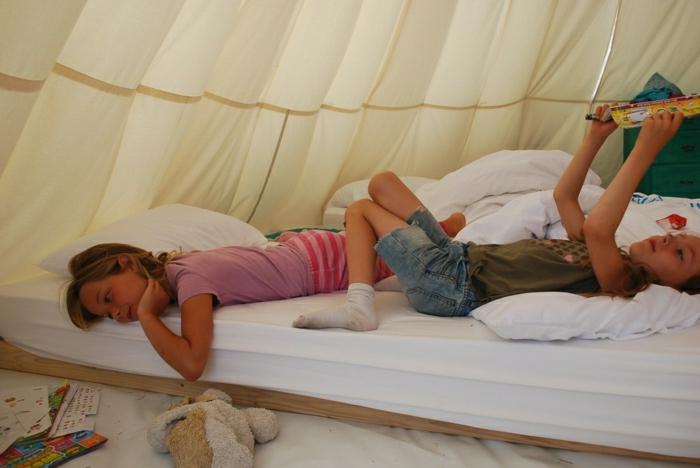 Im Zelt Schlafen : Das tipi zelt abenteuer für kinder