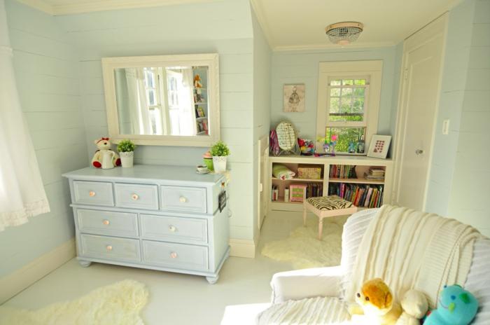 Kinderzimmer-Jugendzimmer-Mädchen-vintage-Möbel