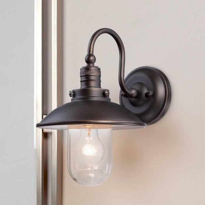Lampe-Glühbirnenform-chrom