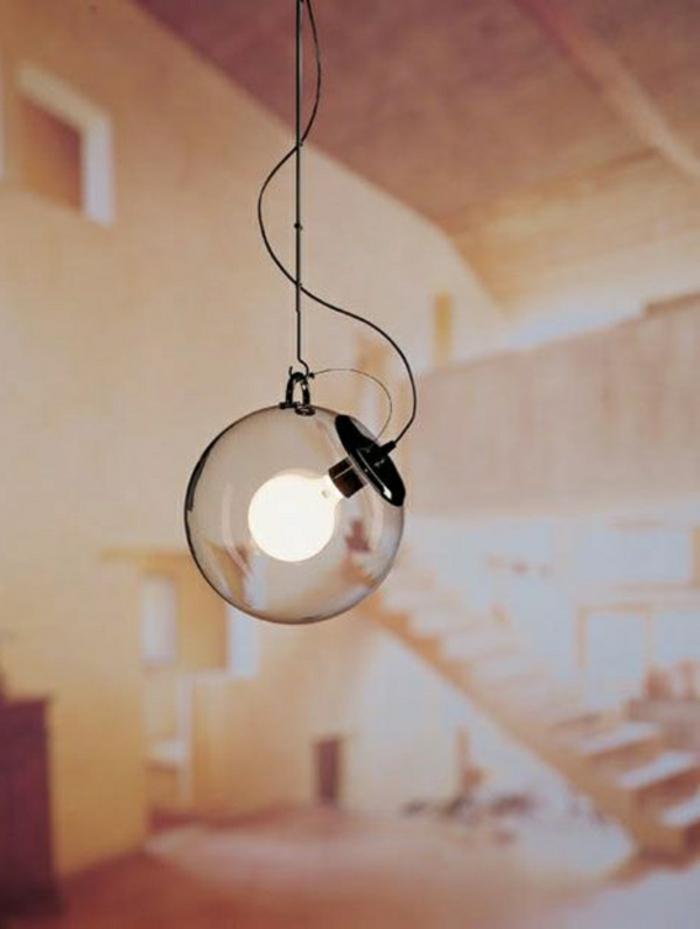 Lampe-Glühbirnenform-glas