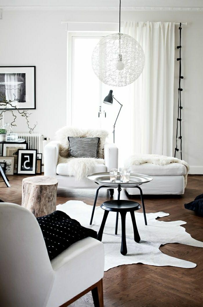 Lampe Glühbirnenform Hängelampe Im Wohnzimmer