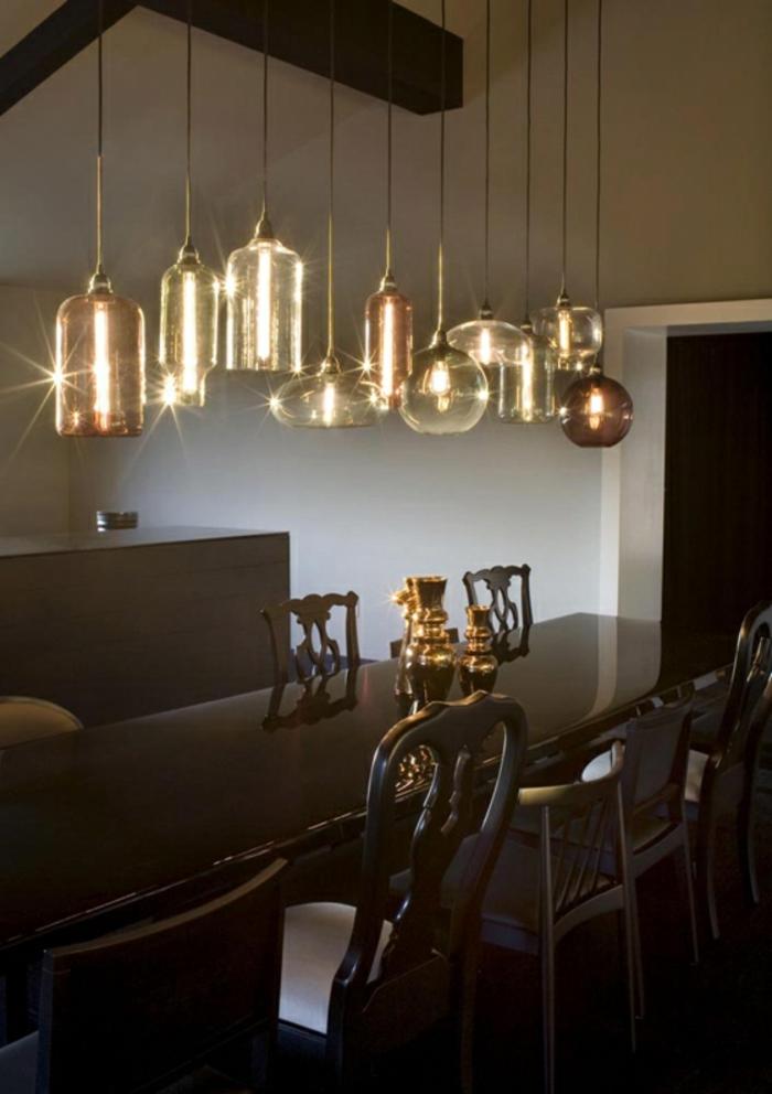 Lampe in gl hbirnenform eine trendige entscheidung - Esstischlampe modern ...