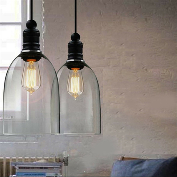 Lampe-Glühbirnenform-rustikale-wirkung-hängend