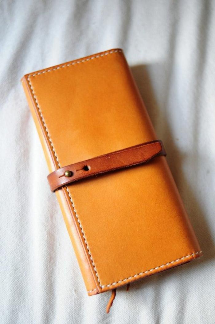 Leder-Geldtasche-elegantes-klassisches-Modell