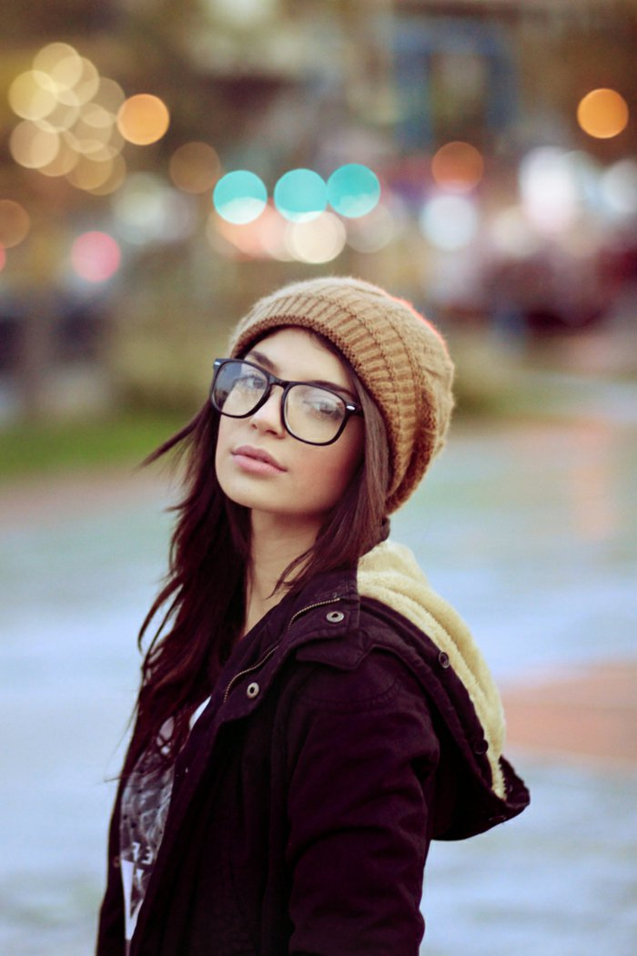 hipster mädchen