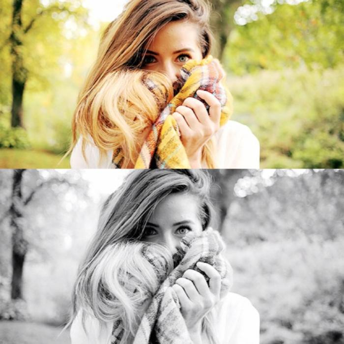Mädchen-warmer-Schal-Wintermode