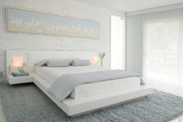 Nachtisch-zum-Einhängen -für-modernes-schlafzimmer