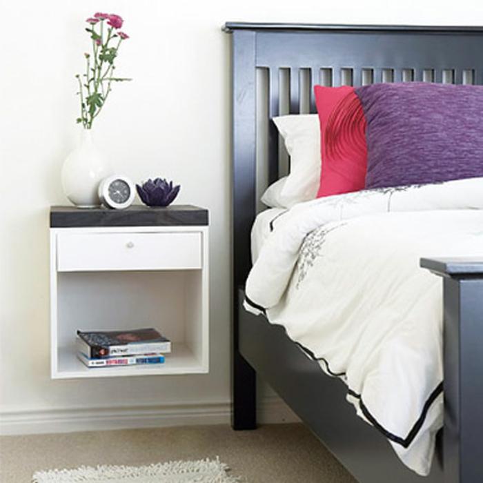 40 super modelle von nachttisch zum einh ngen - Ikea schlafzimmerplaner ...
