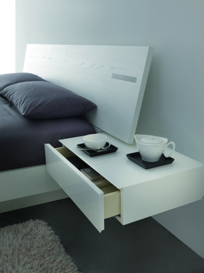 40 super modelle von nachttisch zum einh ngen. Black Bedroom Furniture Sets. Home Design Ideas