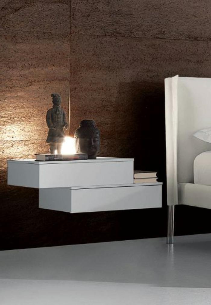Wand Nachttisch 40 modelle nachttisch zum einhängen archzine