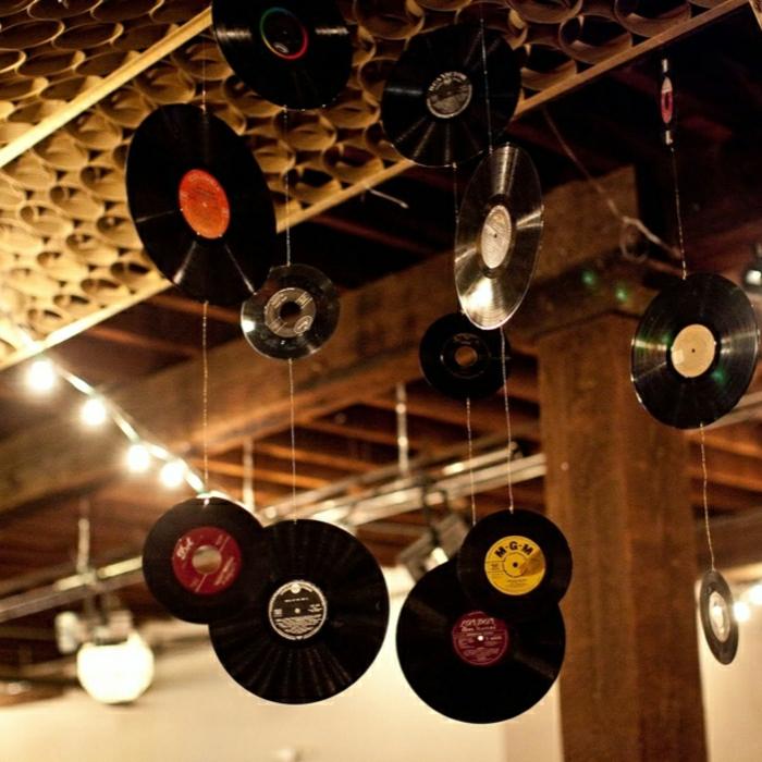Originelle diy ideen mit schallplatten for Dekoartikel party
