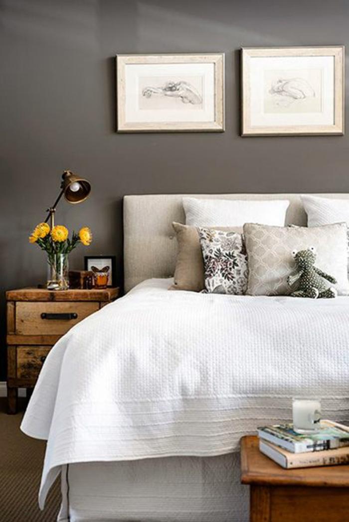Erstaunliche Fotos von King Size Bett mit gepolstertem Kopfbrett ...