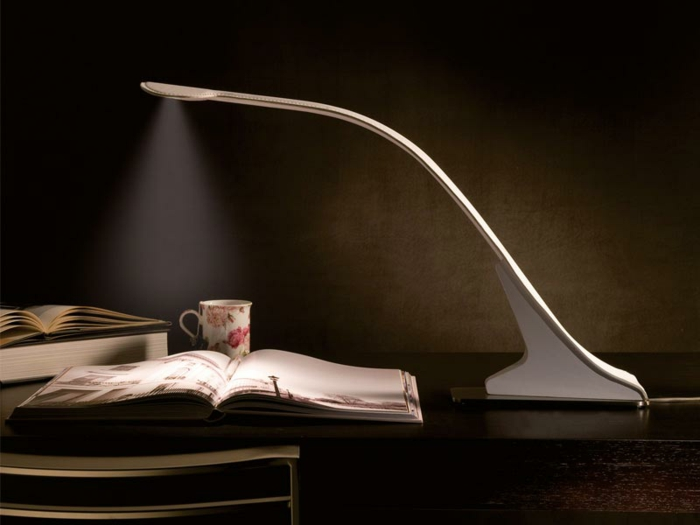 Schreibtisch-Buch-Teetasse-originelle-leseleuchte
