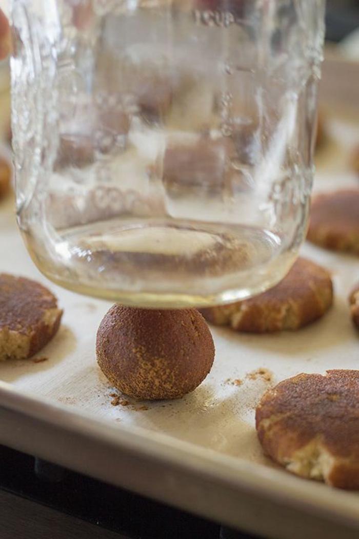 Snickerdoodles-Kokonuss-Bälle-Bonbons