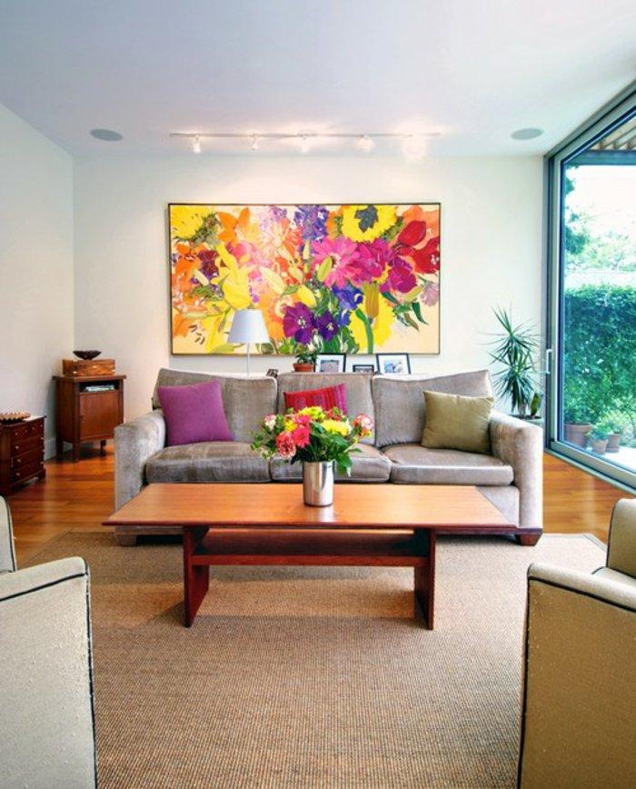 cooles bild wohnzimmer:Bilder fürs Wohnzimmer, die als Hintergrund für die extravagante