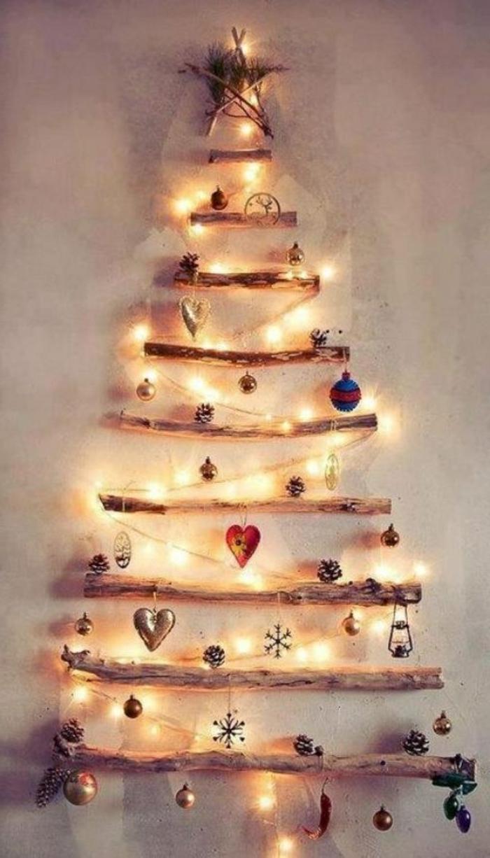 Weihnachtsbaum-Wandgestaltung-Landhausstil-kreative-Idee