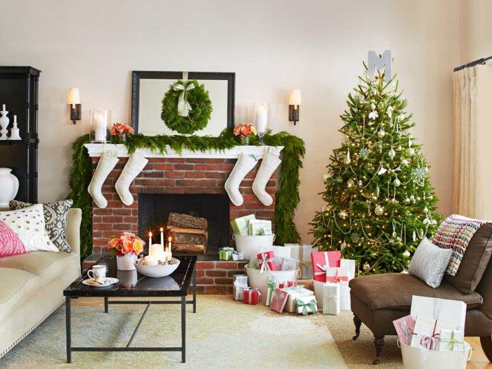 kamin dekoration weihnachten verschiedene. Black Bedroom Furniture Sets. Home Design Ideas
