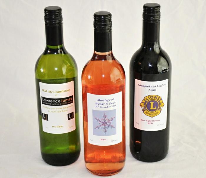 Weinflaschen-verschidene-Weinsorten-Weinetiketten-selbst-gestalten