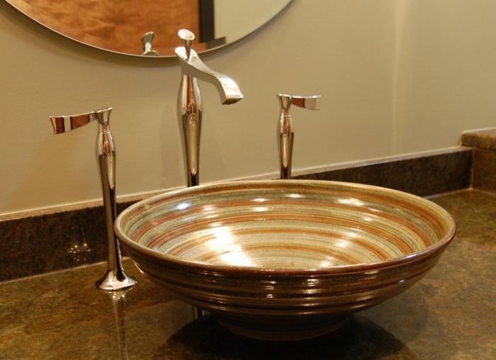 attraktive-wohnideen-fürs-bad-interessantes-design-waschbecken