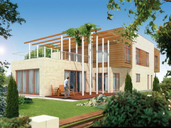 Moderne h user mehr als 160 unikale beispiele for Bauhaus einfamilienhaus grundriss