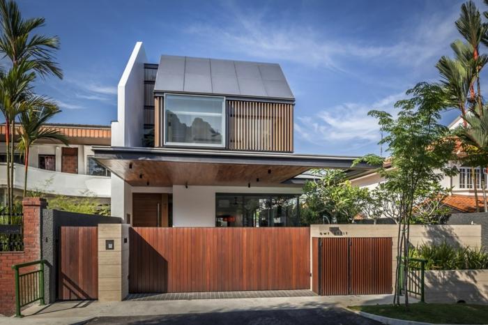 Bauhausstil architektur moderne fertighäuser doppelhäuser