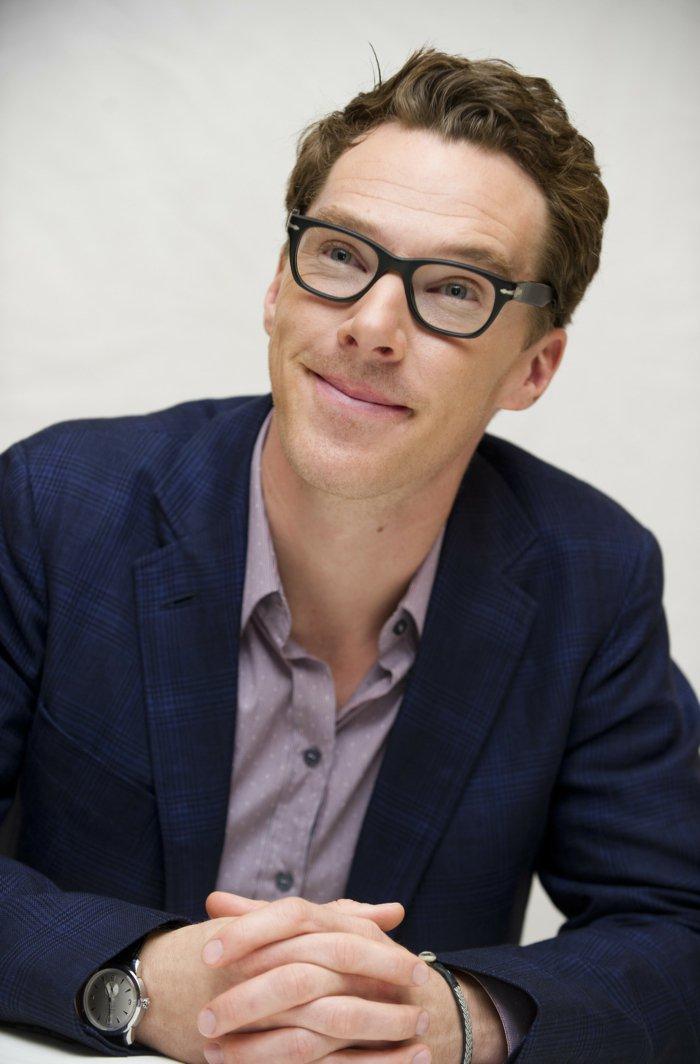 benedict-cumberbatch-Hipster-Brille-schlichtes-Modell-Herrenmode