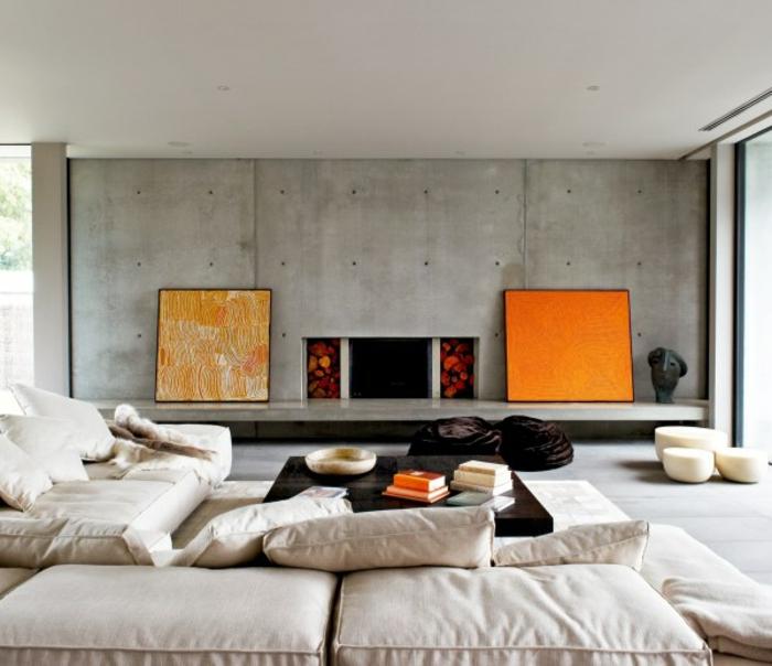 bilder fürs wohnzimmer leinwand:40 attraktive Bilder fürs Wohnzimmer