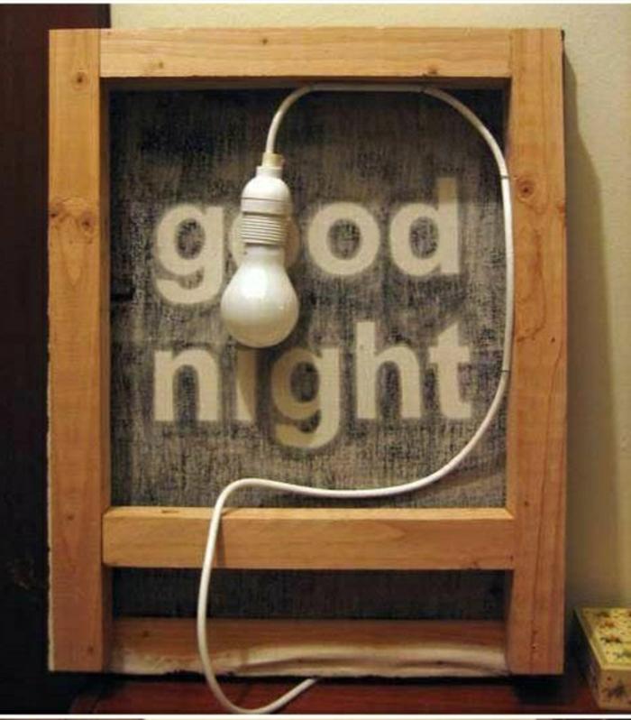 deko-ideen -mit-Lampe-Glühbirnenform