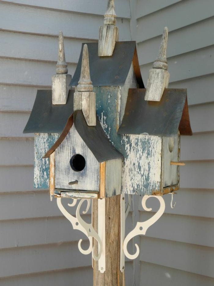 interieur und exterieurideen mit deko vogelhaus. Black Bedroom Furniture Sets. Home Design Ideas