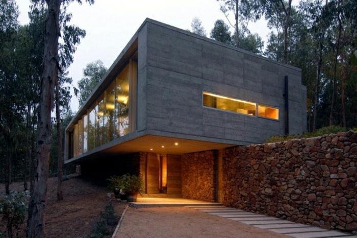 design-fertighaus-tolle-ideen-für-architekten-haus-mit-flachdach