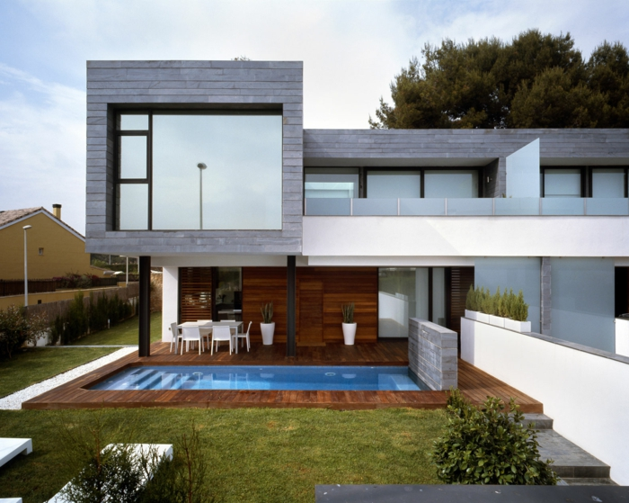 Modernes einfamilienhaus schöne designer häuser