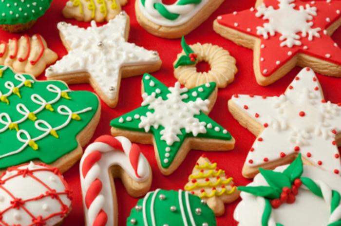 einfach-weihnachts kekse-dekorieren
