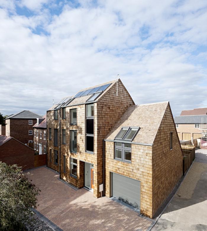 Moderne Architektur Einfamilienhaus Grundriss