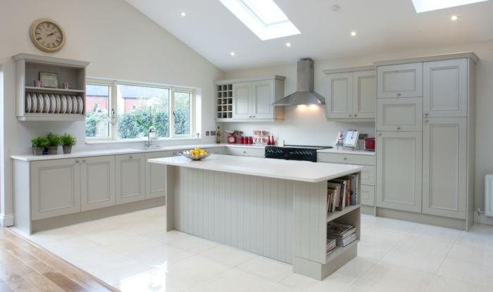 einrichtungsidee-für-küche-weiße-farbe-schickes-design
