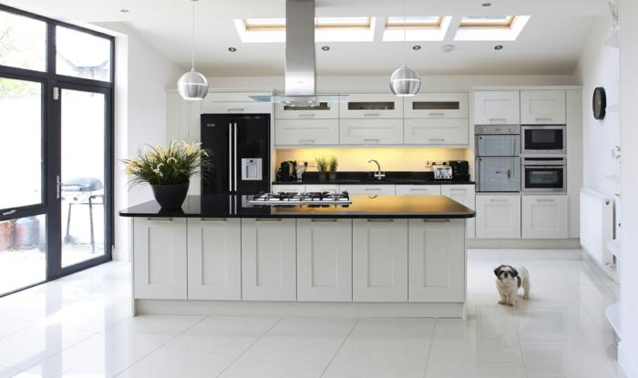 einrichtungsideen-küche-unikale-hellfarbige-ausstattung