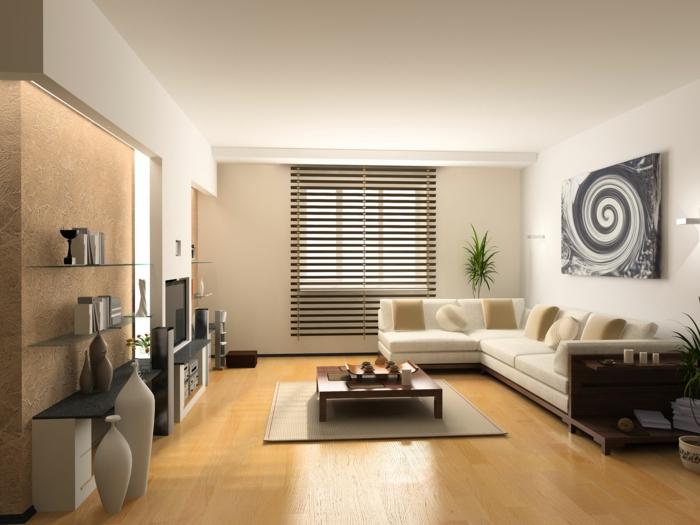 einrichtungsideen-wohnzimmer-dekoartikel-an-der-wand-über-dem-sofa