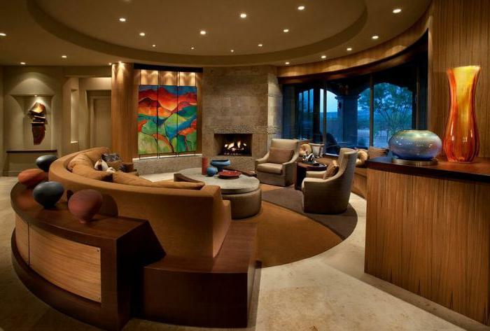 elegante-Wohnzimmer-Ausstattung-stilvolle-Möbel-moderne-couch-Sessel