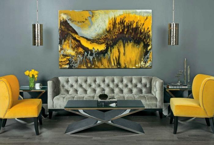 Auf diesem Foto sind einige abstrakte Zimmer Deko Ideen, die den ...