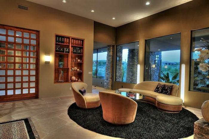 elegantes-Interieur-sofa-modern-Sessel-Hocker-stilvolle-Möbel
