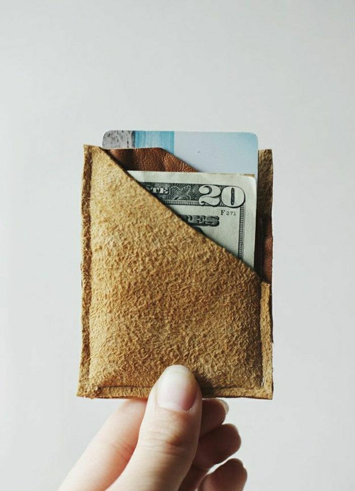 geldbörse-nähen-anleitung-Leder-Geldtasche-Geld-Dollars