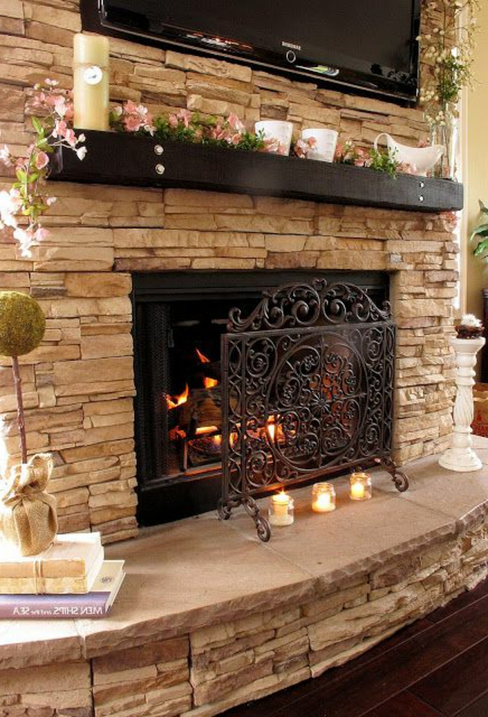 Gas Fireplace Decorating Ideas