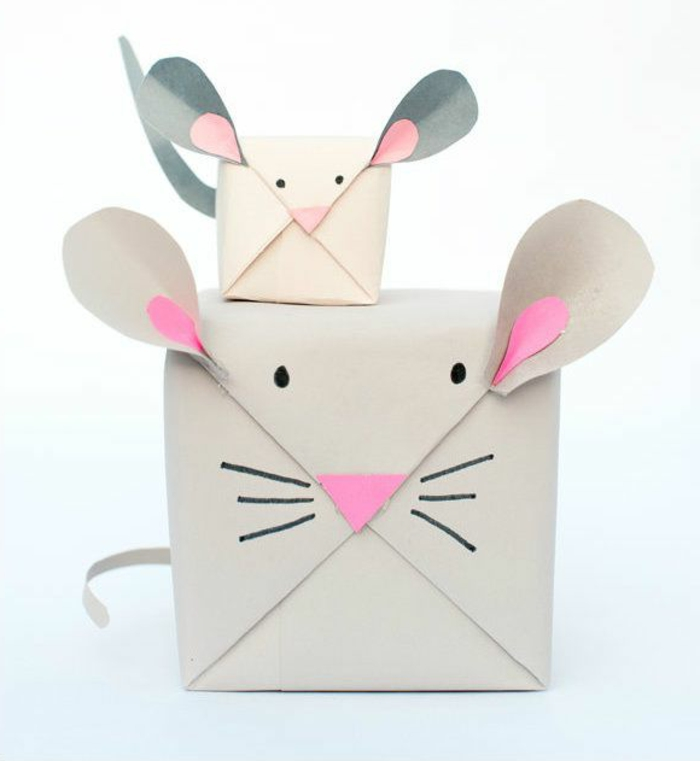geschenke-originell-verpacken-Mäuser-Gestalten