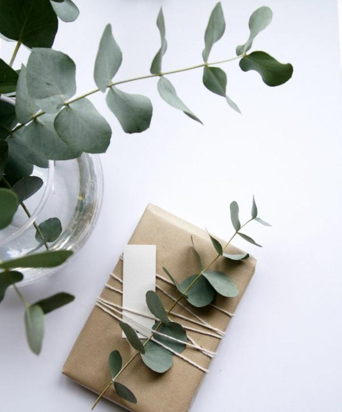 geschenke-schön-verpacken-Grün-Dekoration-romantische-Idee