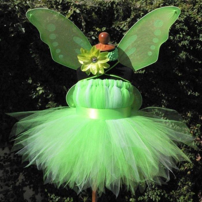 grünes-waldfee-kostüm-Tüll-kokettes-Modell