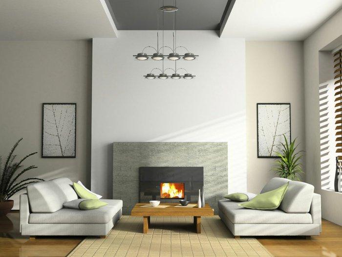 graphische-wandbilder-schlichtes-elegantes-wohnzimmer-interieur-helle-Nuancen