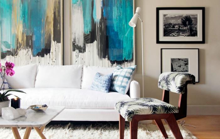 große-wandbilder-art-elegantes-Wohnzimmer-Interieur