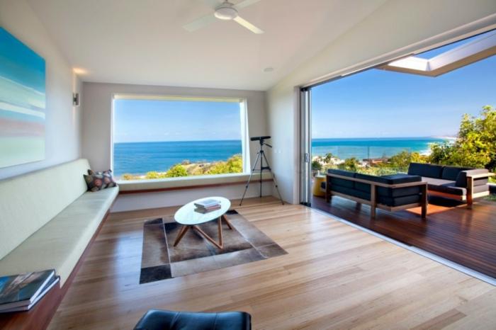 häuser-am-strand-weiße-moderne-überdachung
