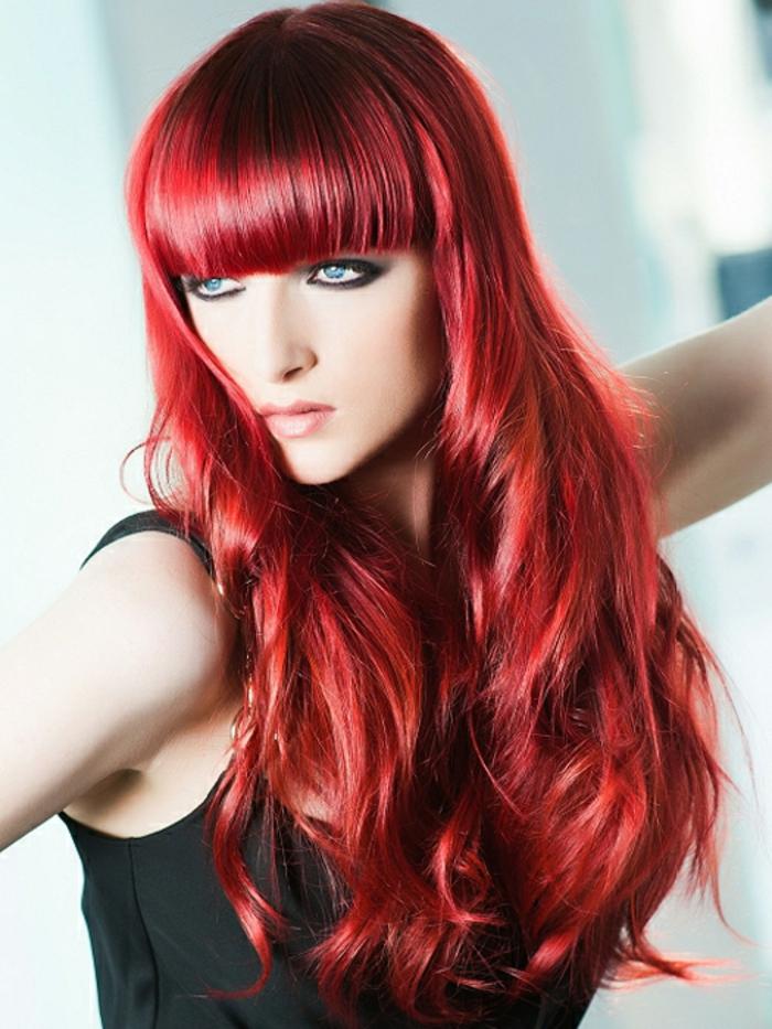 haarfarbe-rot-pony-wunderschönes-foto